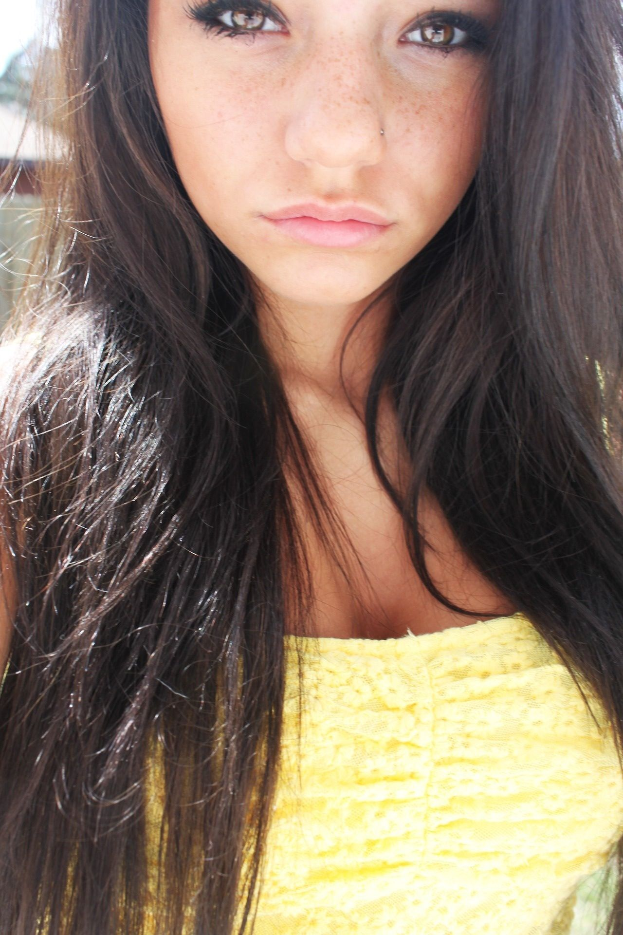 Megan NiHart ~ Nose Stud Piercing | Megan Nihart | Pinterest | Nose ...