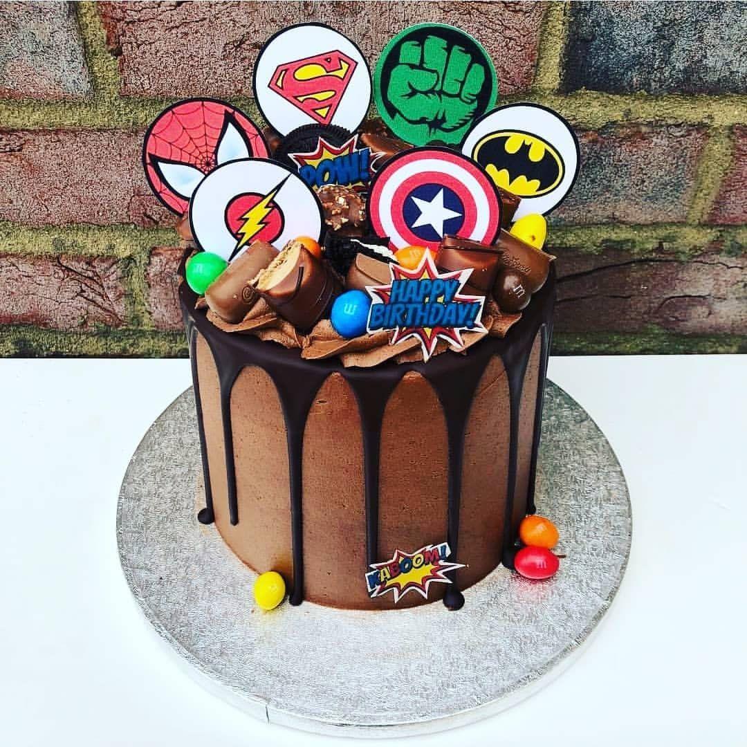 Marvel Cake Toppers | Etsy | Marvel cake, Marvel birthday ...
