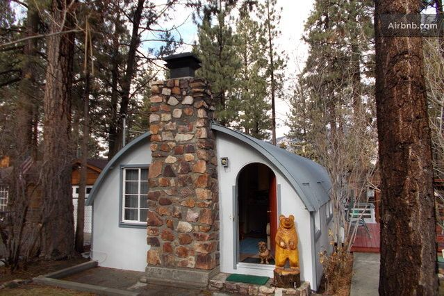Military Surplus Quonset Huts For Sale >> Quonset Huts: Great Idea for a Tiny House – Modern Tiny House | Decor: Mezzanine | Hut house ...