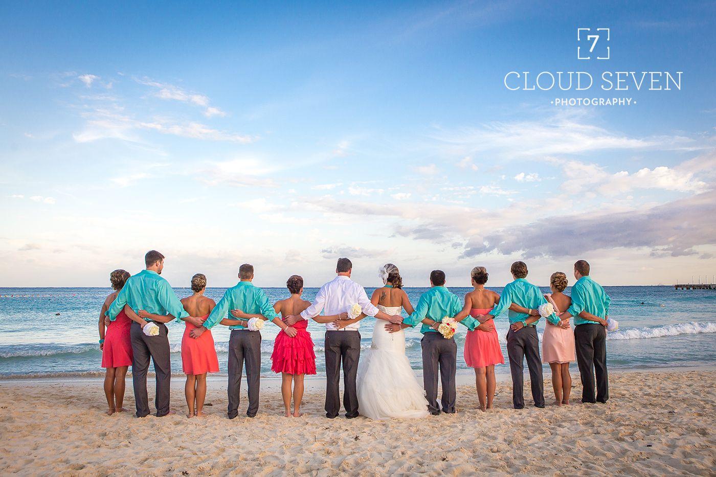 Wedding Photography Photos Destination Bridal Party Beach