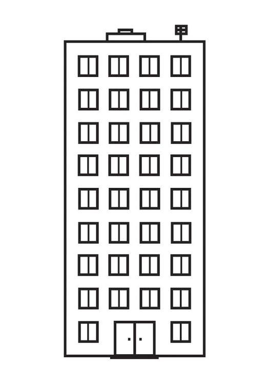 Como Dibujar Un Edificio Para Ninos
