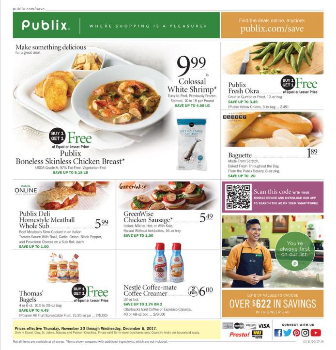 Publix Weekly Ad Feb 0107, 2018