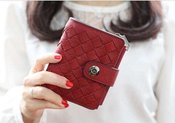 Brands Women Short Wallets Ladies Vintage Small Wallet Women Zipper Roomy Female Coin Purse