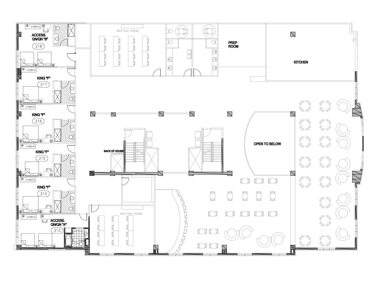 Hotel Restaurant Floor Plan - Google Search