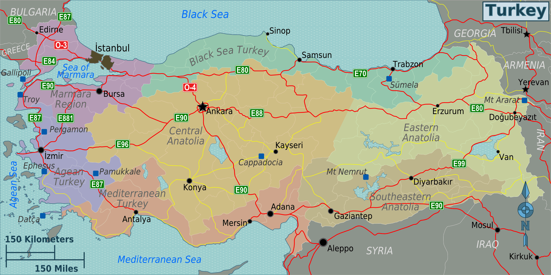 Turkey regions map google search trkye hartasip turkey regions map google search gumiabroncs Images