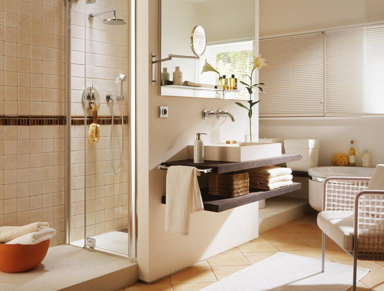 Raumteiler Als Platzwunder Badezimmer Schoner Wohnen Grosse Badezimmer Badezimmer Duschkabine