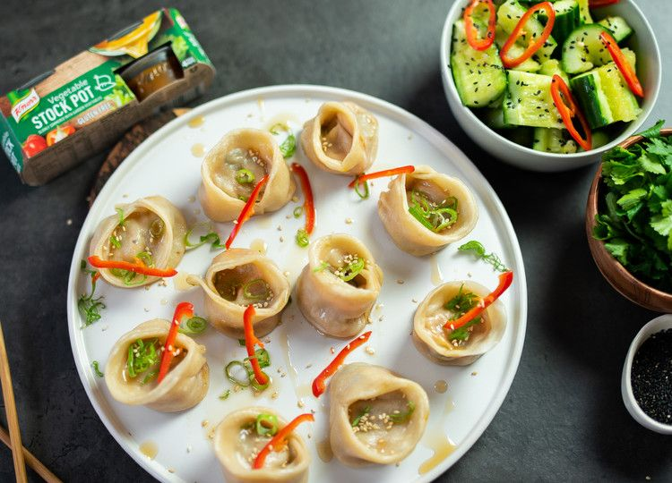 Sweet Potato Pot Sticker Dumplings Knorr Uk