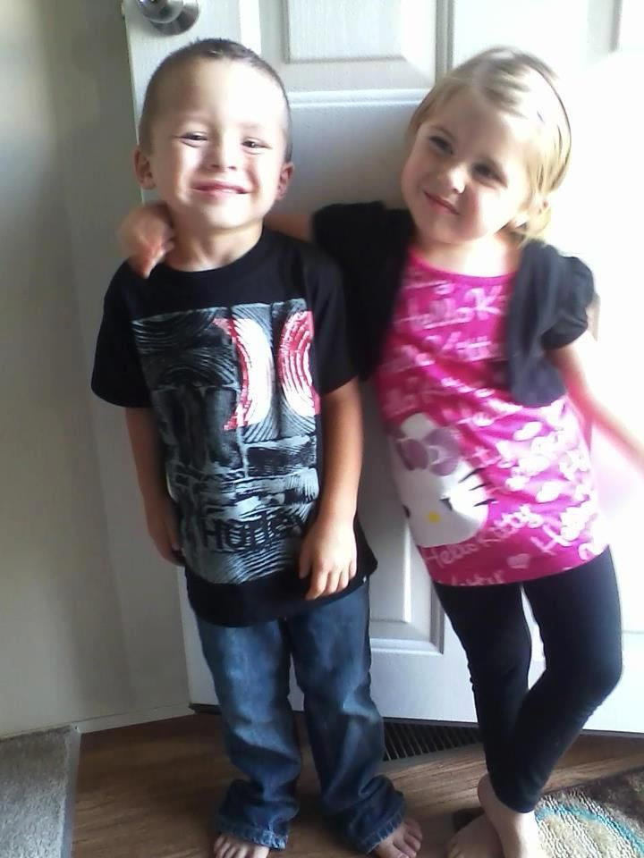 "My twins loving some of their ""new"" clothes from thredUP! - Jessica Ownley"