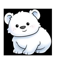 Baby Poley | Polar bear drawing, Cute drawings, Kawaii ...