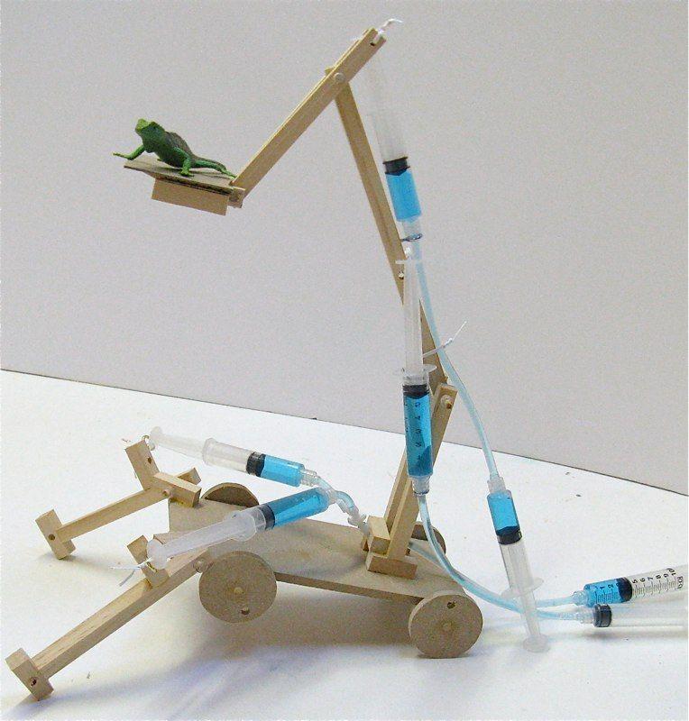 Hydraulic Arm Science Fair Projects : Hydraulic crane science pinterest