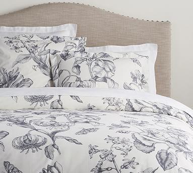Pippa Floral Print Organic Duvet Cover Amp Sham Potterybarn