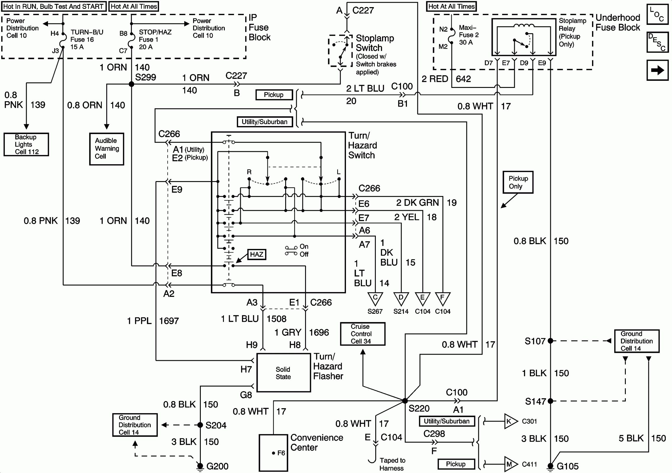 12 99 Tahoe Engine Wiring Diagram