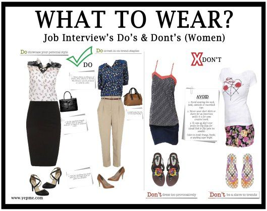 what to wear for interview female