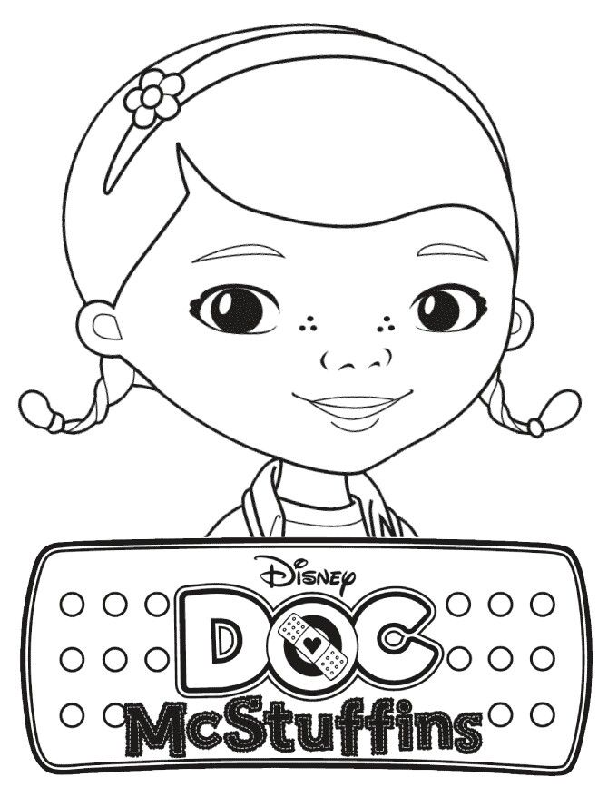 Need To Print From Coloring Book) Doc McStuffins Coloring Pages ...