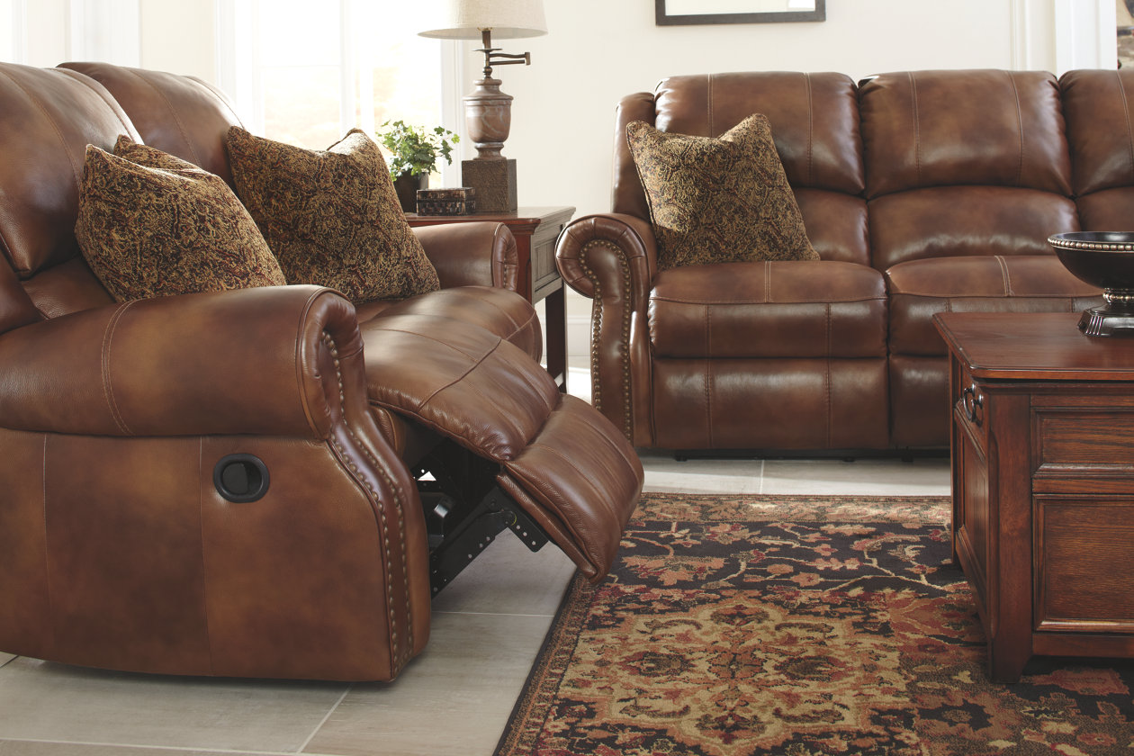 Walworth Reclining Loveseat With Images Reclining Sofa Living