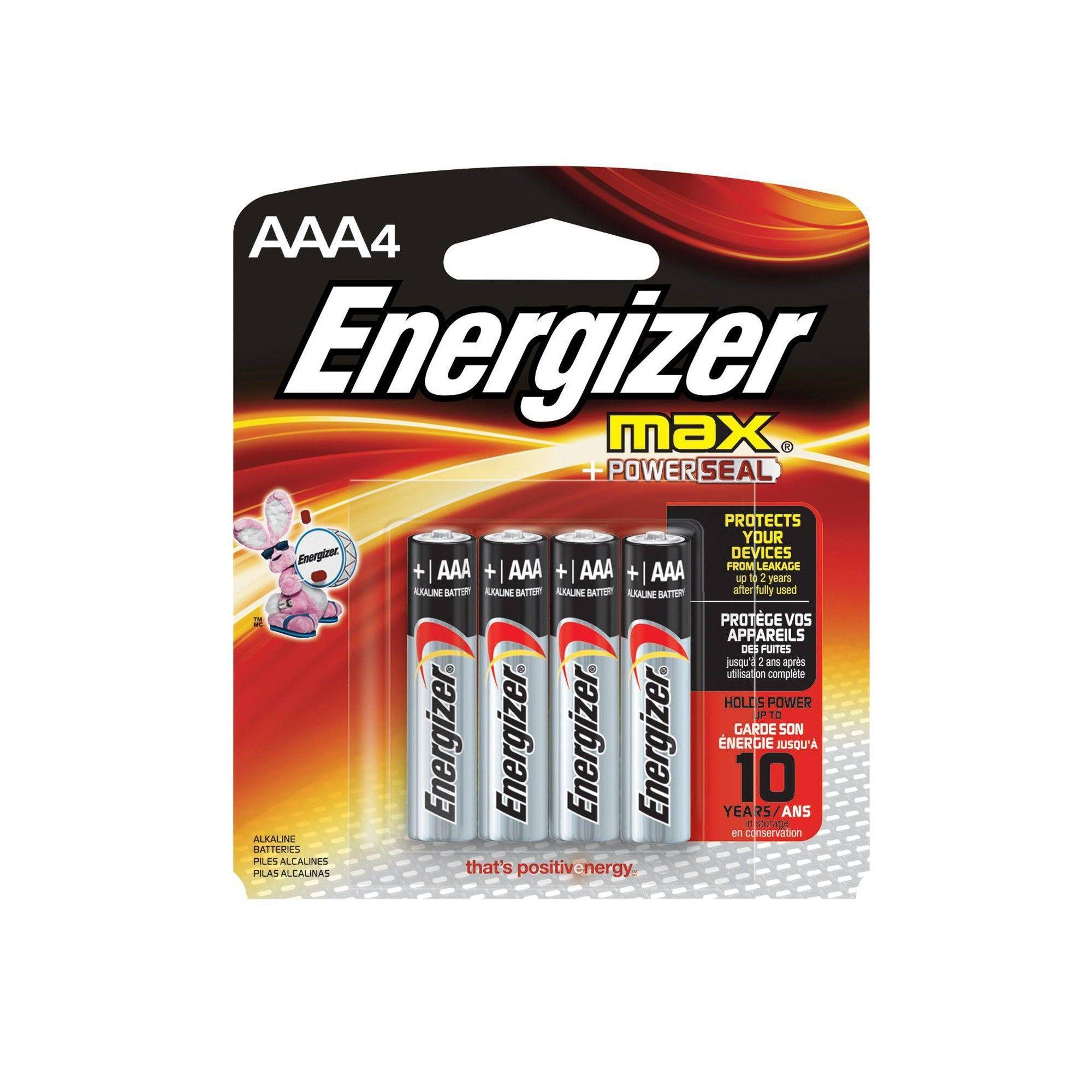 Energizer Max Aaa Batteries 4 Ct Alkaline Battery Digital Camera