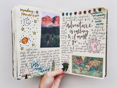 Exceptionnel Imagem de adventure, art, and book | A better me | Pinterest  GO61