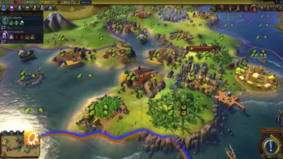 The netherlands back in Civilization VI: conquer the world