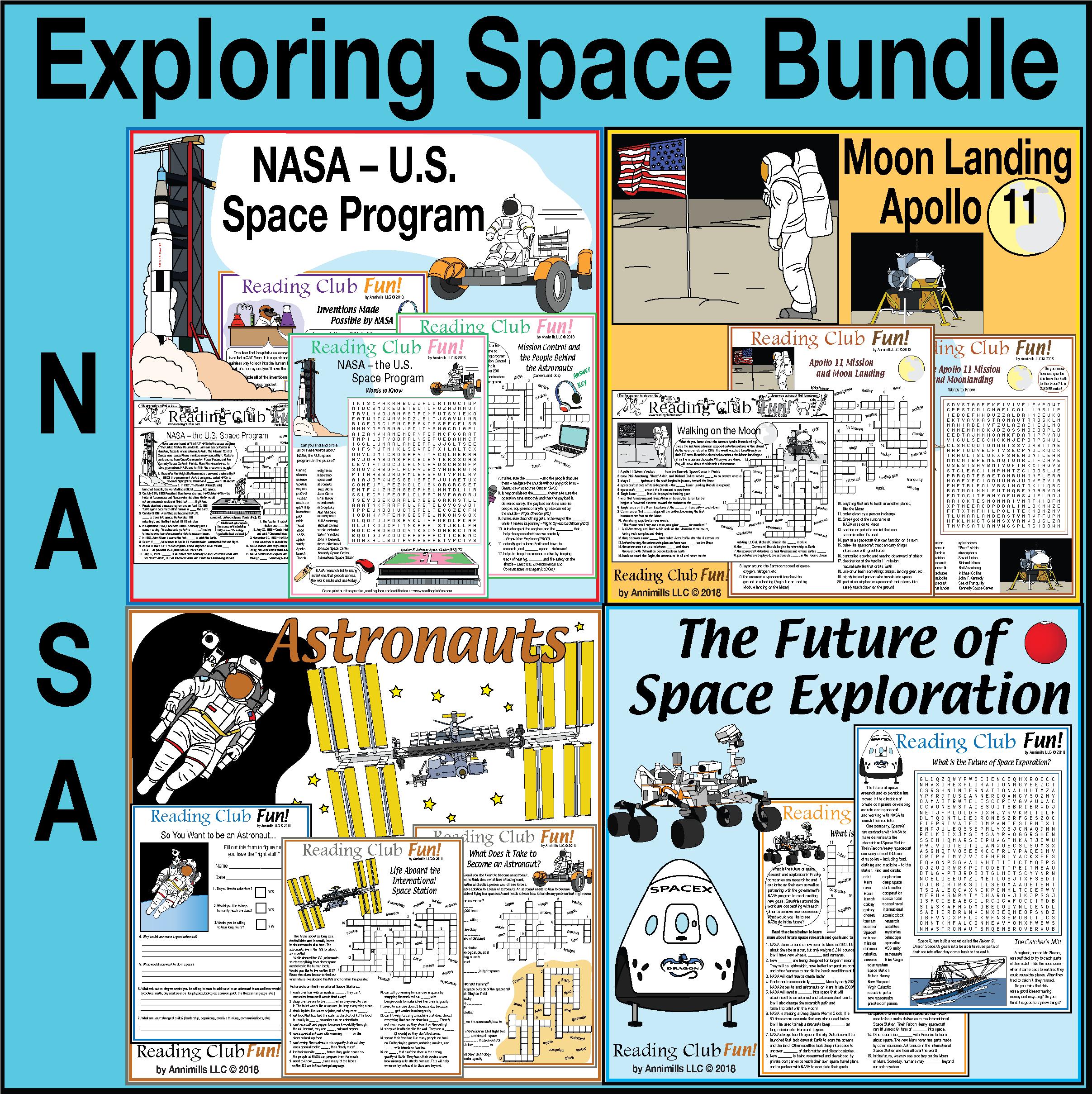 Exploring Space Nasa Moon Landing Astronauts And Future