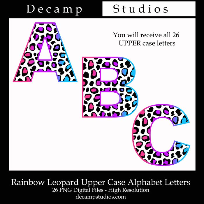 Free Clipart  Download For Free This Beautiful Rainbow Leopard