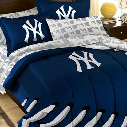 New York Yankees Mlb Twin Bed In A Bag, New York Yankees Queen Bedding