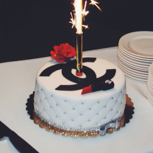 Chanel Pastel Designer Cake S Chanel Birthday Cake