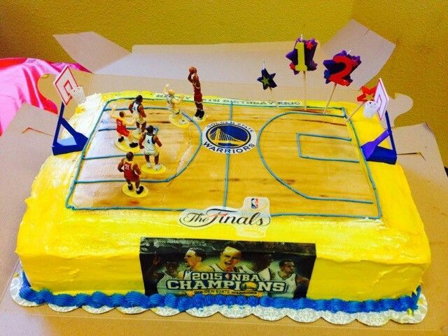 Searched High And Low For A Warriors Cake Finally Decided To Make My Own Son S Birthday