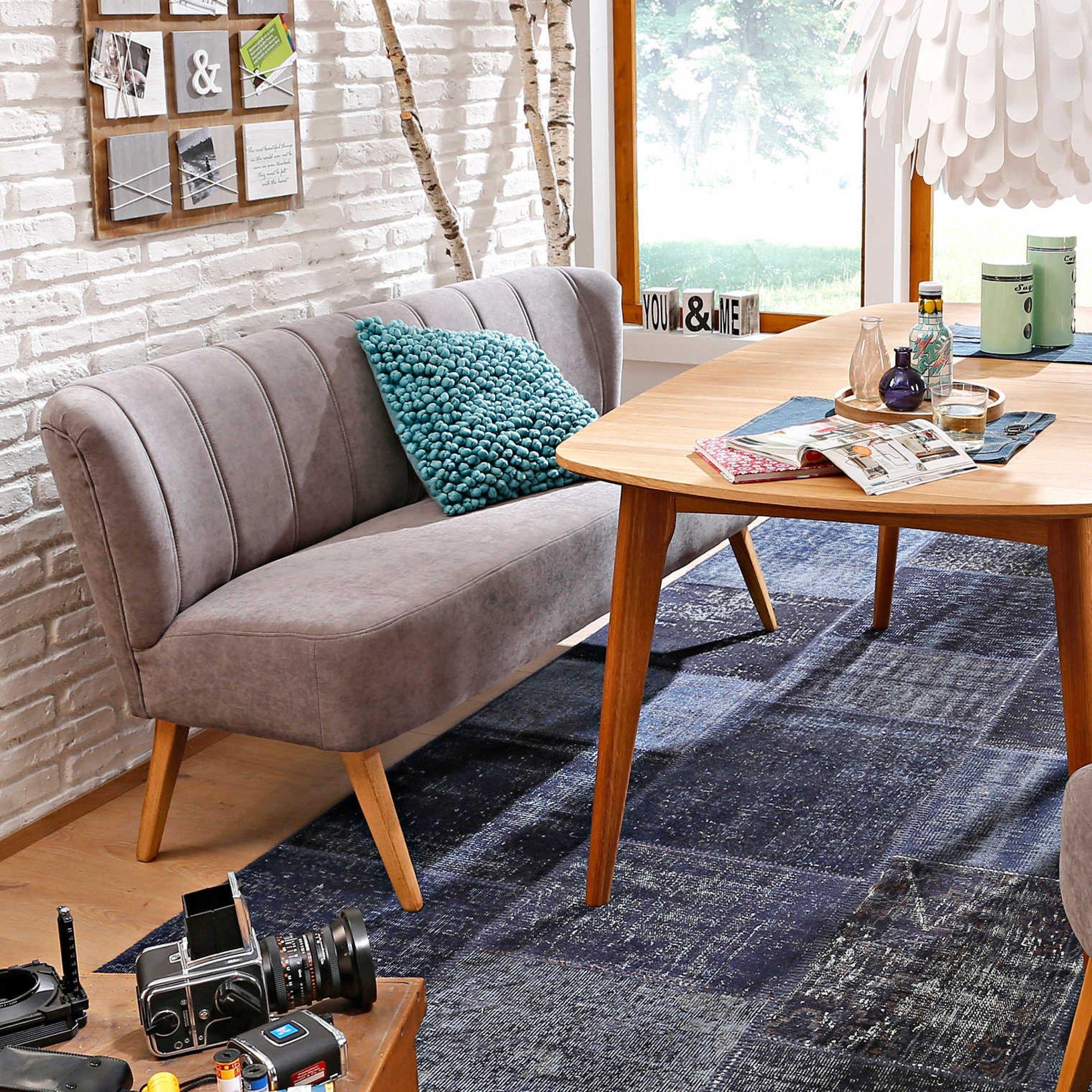 Esszimmermöbel design sofabank lentini weiß  bänke  bänke u eckbänke  esszimmer