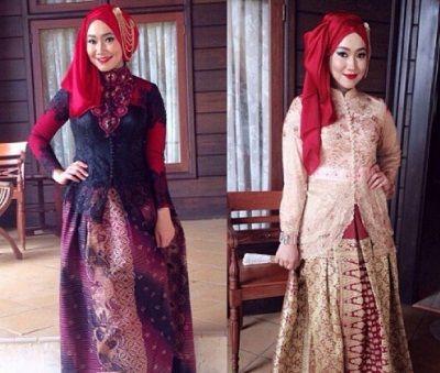 125+ Gambar Model Baju Kebaya Nasional Muslim Paling Keren
