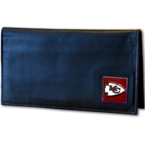 NFL Kansas City Chiefs Leather Checkbook Cover by Siskiyou. $11.04. NFL  Leather Checkbook Cover
