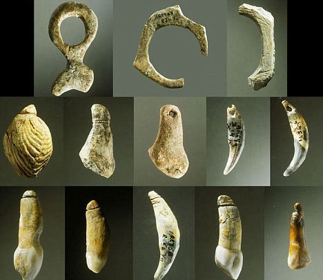 Image result for prehistoric jewelry