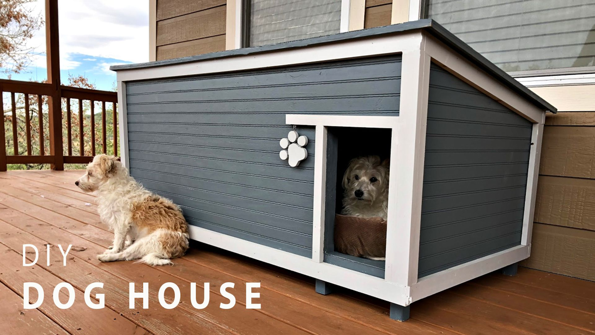 Diy Insulated Dog House Wilker Do S Insulated Dog House Large Dog House Dog House Plans