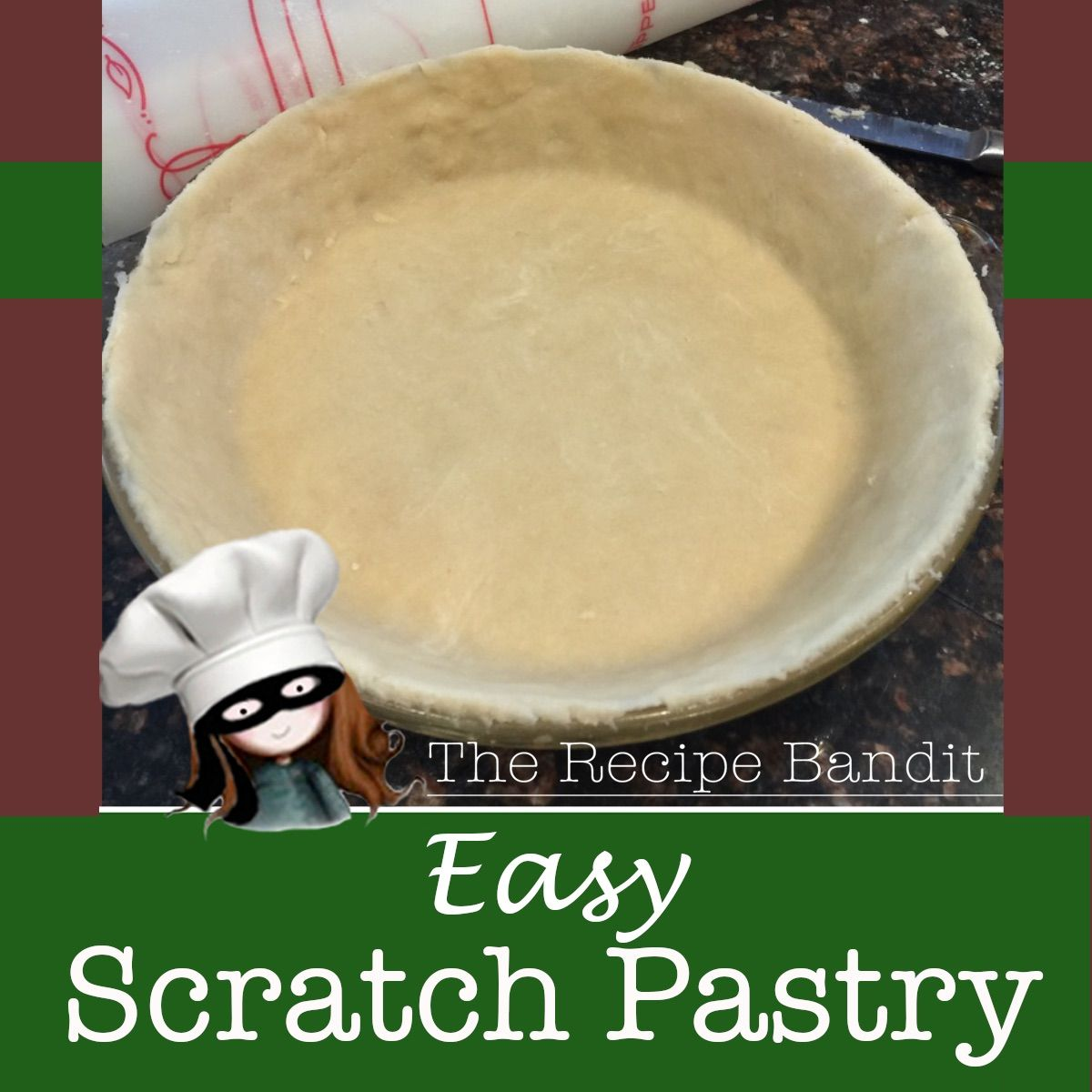 You don't have to be a pastry chef to create delicious and easy pastry in your own kitchen. This tried and true recipe will walk you through step by step. ❤️ #pastry #homemade #scratch #baking #Imadeit #therecipebandit