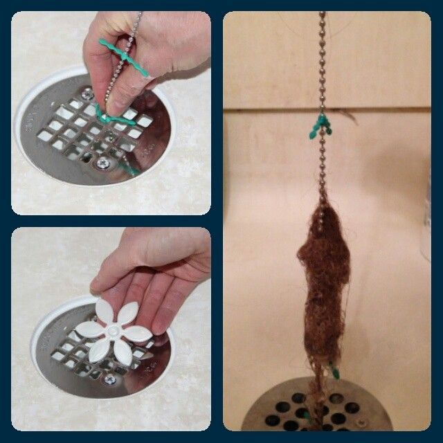 A Drainwig Is So Easy To Use Simply Thread The Whiskers Through Fascinating Bathroom Drain Clogged Inspiration