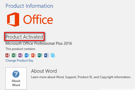 ms office 2016 with crack key