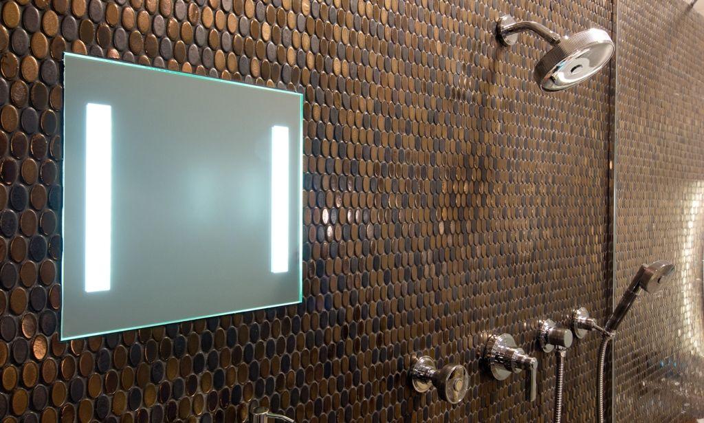 Emser Tile Confetti Penny Round Mosaic Series Bronze