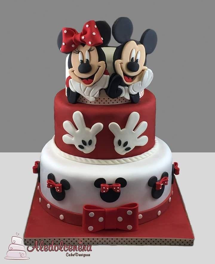 Groovy Minnie Mouse Birthday Kinder Geburtstag Torte Mini Maus Torte Funny Birthday Cards Online Overcheapnameinfo