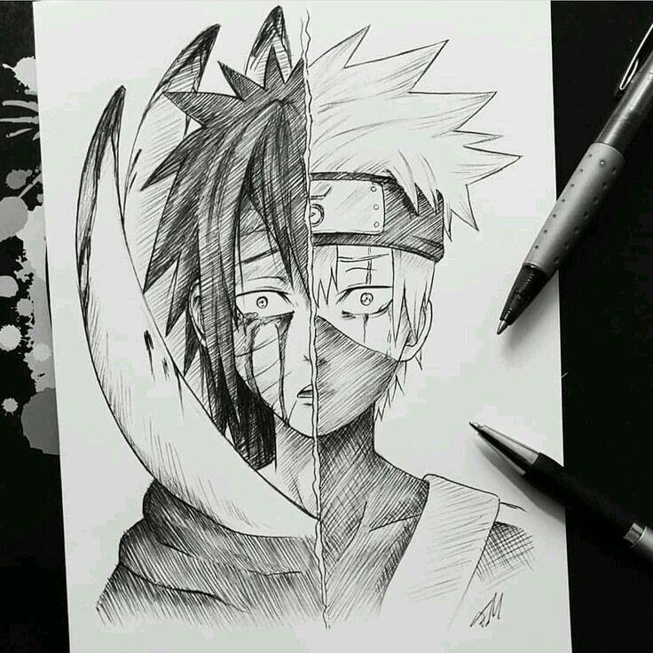 Pin De Bima Em Naruto Tatuagens De Anime Desenhos De Anime Desenho De Anime