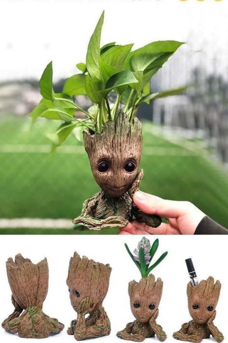 $24.99 Baby Groot Planter - Cute Flower Pot + Free Shipping