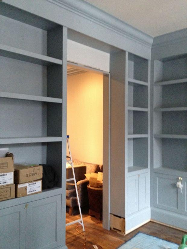 Best Shelves Boothbay Gray From Benjamin Moore Built Ins 400 x 300