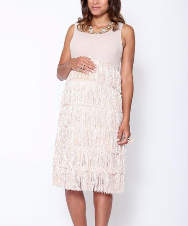 Take A Look At This Pearl Gatsby Maternity Dress By Egg On