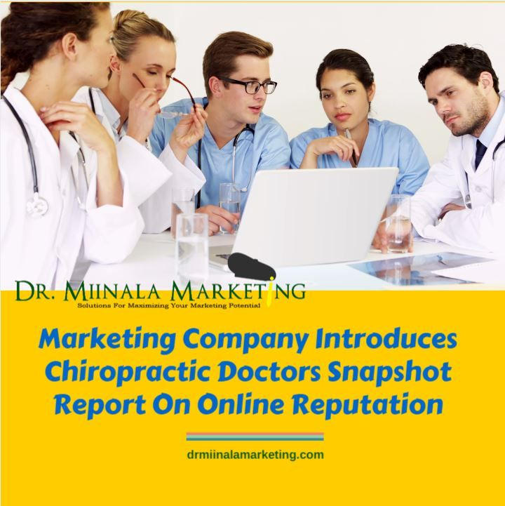 Free report for #chiropractic doctors on online reputation « dr miinala marketing