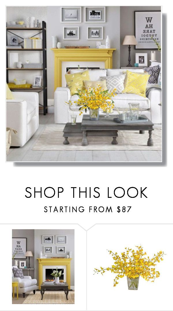 Pale Grey And Lemon Yellow Living Room Yellow Home Decor Yellow Living Room Grey Home Decor #white #grey #and #yellow #living #room