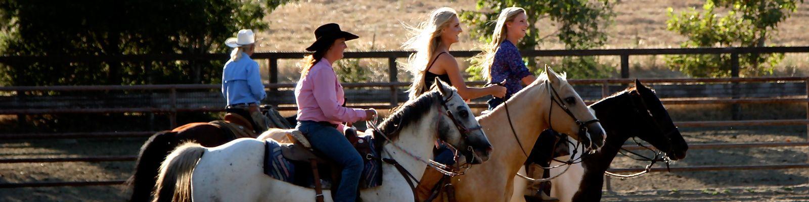 Escape to Alisal and experience the best Santa Barbara horseback riding Santa Ynez Valley, California has to offer.