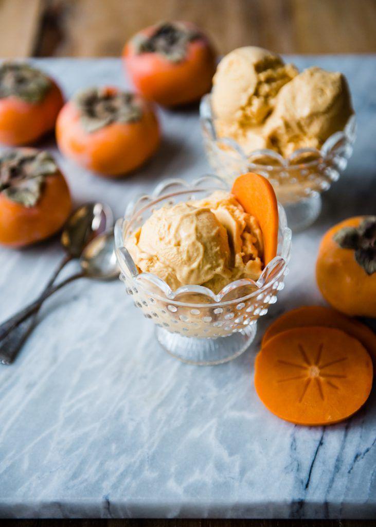 Roasted Persimmon Ice Cream » Cafe Johnsonia #healthyicecream