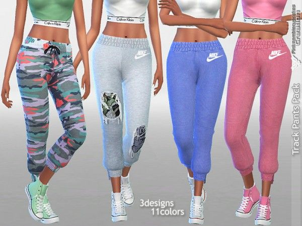 5a2636829d8 The Sims Resource  Track Pants Pack by Pinkzombiecupcakes • Sims 4 Downloads