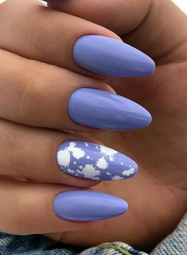 54 Perfect Short Acrylic Almond Nails Design For This Summer Page 39 Of 54 Latest Fashion Trends For Woman Almond Nails Designs Pretty Acrylic Nails Almond Nails