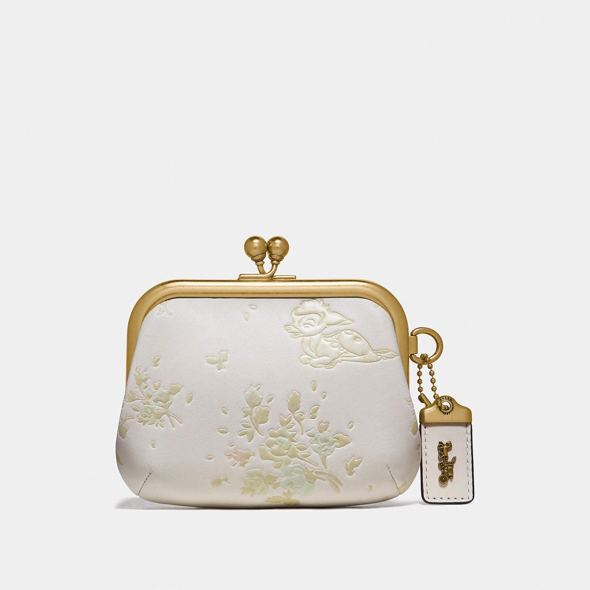 Floral Coin Purse Complete Kits with Kiss Lock Frame for Making Your Own Bag