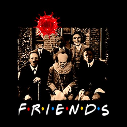 Halloween 2020 Ds Poster Friends horror movie creepy halloween shirt in 2020 | Halloween