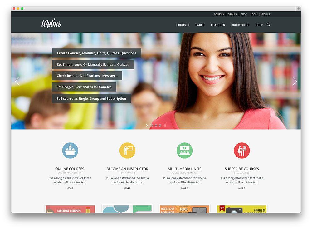 22 best Website design images on Pinterest Wordpress template - online quiz templates